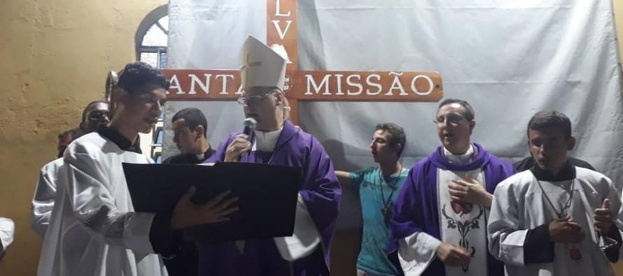 Dom José participa do encerramento das missões populares da Comunidade Santa Luzia