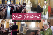 Catedral de Santo Amaro, Abade recebe Visita Pastoral do bispo diocesano