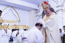Diocese celebra a ordenação diaconal de nove seminaristas