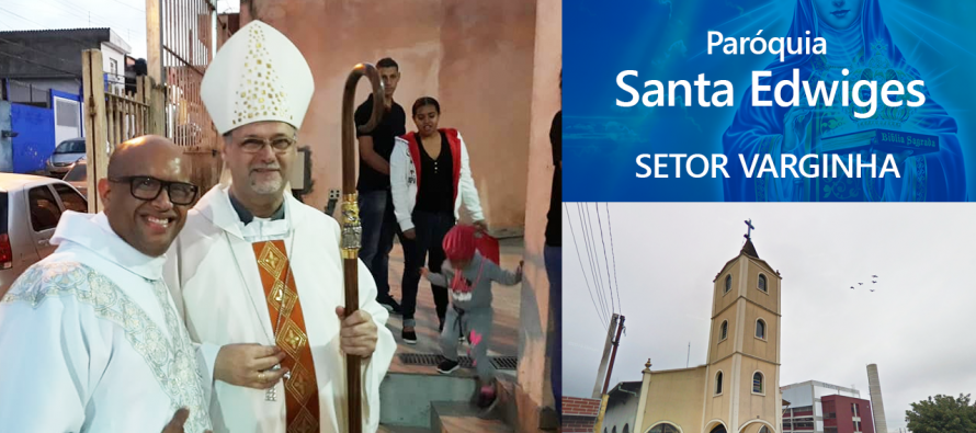 Pe. Paulo Saraiva toma posse na paróquia Santa Edwiges