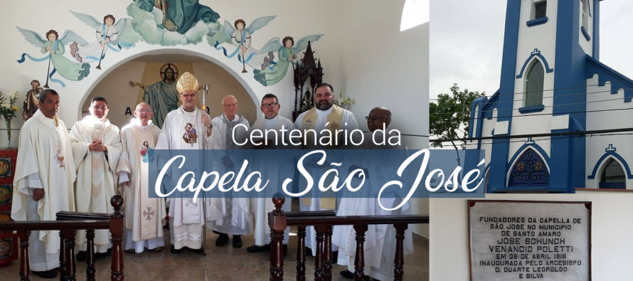 Capela de São José completa 100 anos