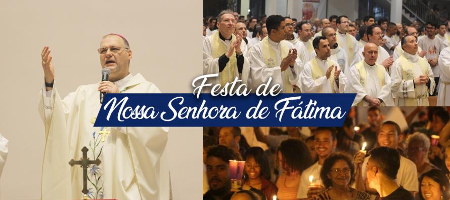 Grande Procissão e Missa Diocesana de Nossa Senhora de Fátima