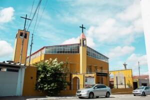 foto externa igreja - Paroquia Bom Pastor - Diocese de Santo Amaro