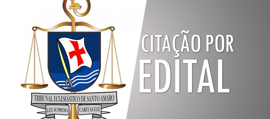 Citação por Edital 01/2018