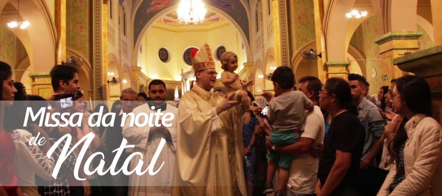 Missa da Noite de Natal na Catedral de Santo Amaro