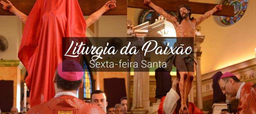 Sexta-feira Santa: Celebração da Paixão, Adoração da Santa Cruz e Procissão do Senhor Morto