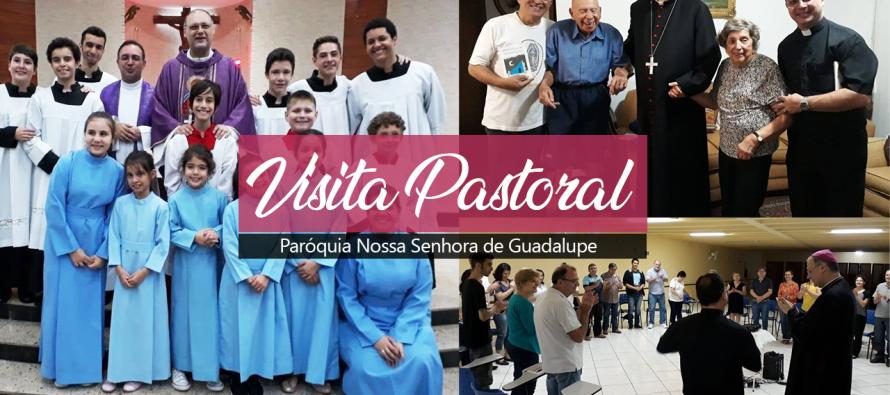 Paróquia Nossa Senhora de Guadalupe recebe Dom José para Visita Pastoral