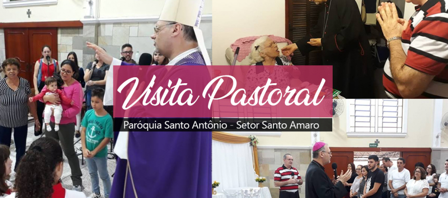 Paróquia Santo Antonio da Vila Miranda recebe Dom José para Visita Pastoral
