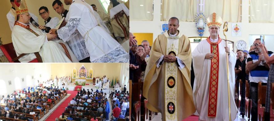Ordenação presbiteral e posse do novo administrador paroquial da Paróquia Sto. Expedito