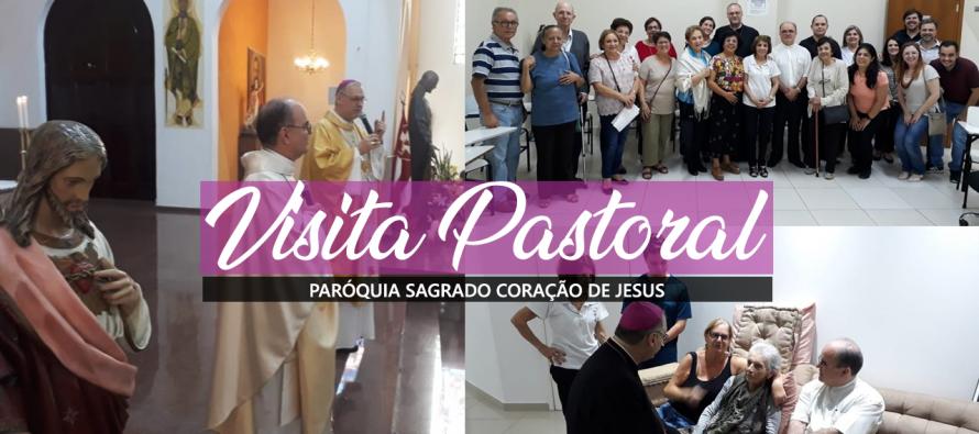 Visita Pastoral na Paróquia Sagrado Coração de Jesus