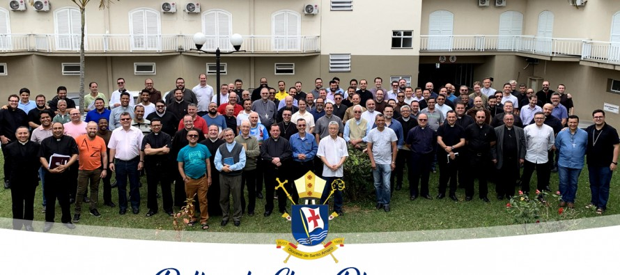 Clero diocesano conclui retiro anual no Vale do Paraíba