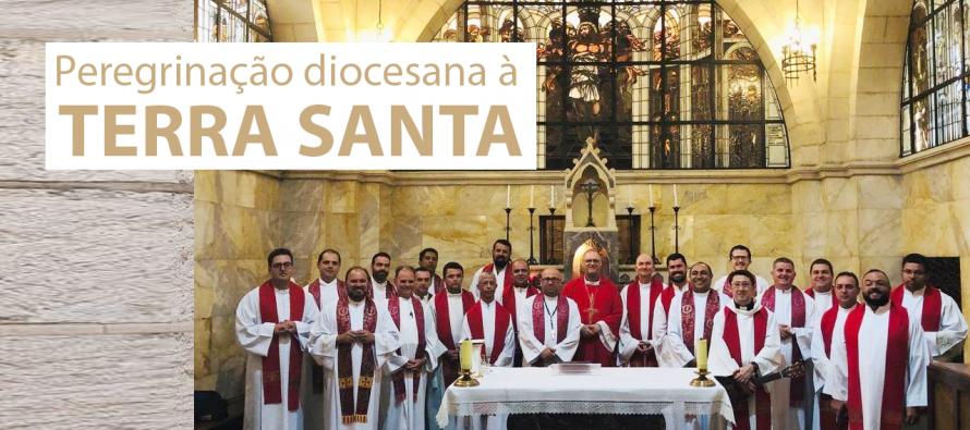 Peregrinação do clero diocesano é destaque na TV Canção Nova