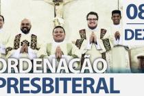 08/12: Bispo ordenará cinco novos padres para a diocese