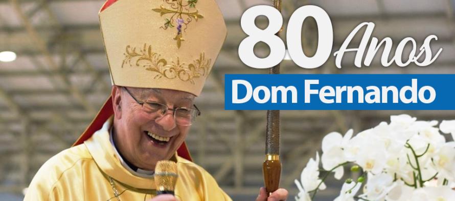 Dom Fernando celebra 80 anos de vida