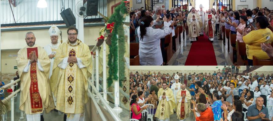 Paróquia N. Sra. da Anunciação e Paróquia N. Sra. das Dores recebem novo pároco e vigário