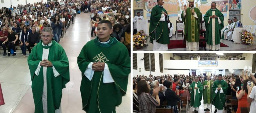 Paróquia Nossa Senhora do Rocio recebe novo pároco e vigário