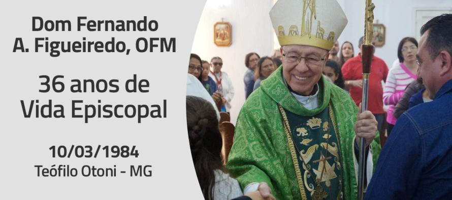 Dom Fernando completa 36 anos de vida episcopal