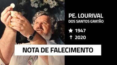 Nota Falecimento Padre Lourival