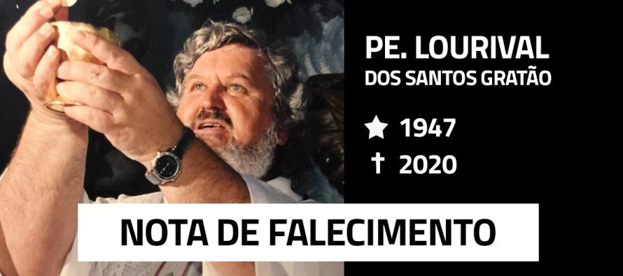Nota de Falecimento: Padre Lourival dos Santos Gratão