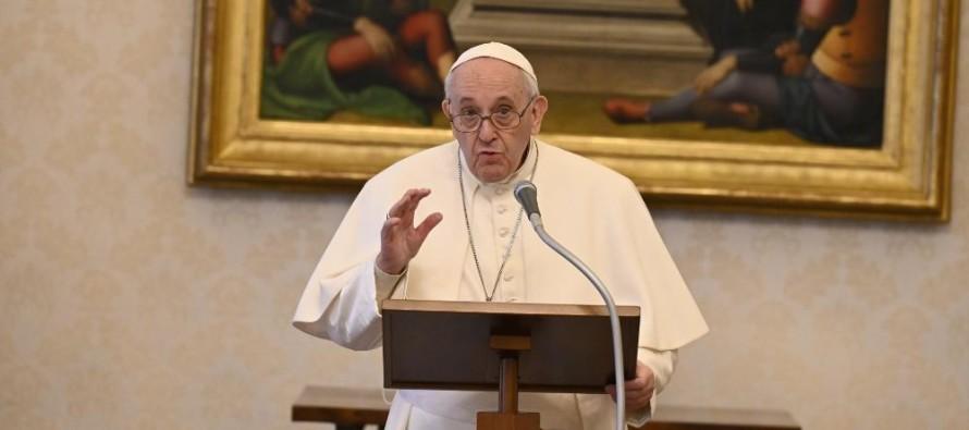 """Francisco: Jesus é o único """"mestre de vida"""""""