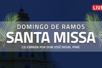 Acompanhe a Santa Missa deste Domingo de Ramos ao vivo