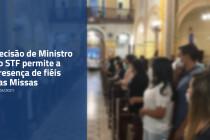 Missas com a presença de fiéis voltam a acontecer neste domingo de Páscoa