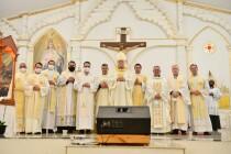 Missa da Relíquia do Beato Carlo Acutis no setor Sabará